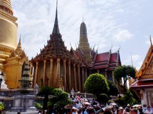 Kinder in Thailand Bangkok Königspalast