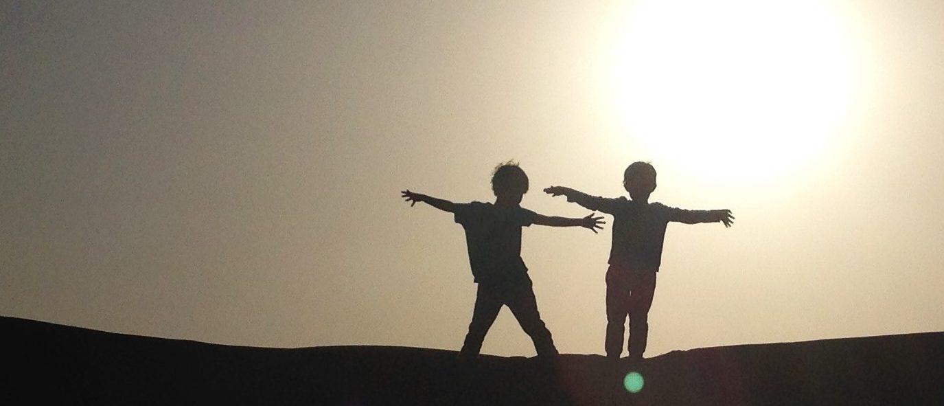 Kinder in der Wüste - Titelbild Presse
