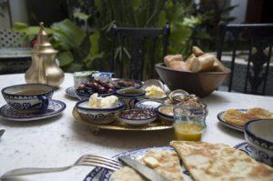 Frühstück in Marrakesch