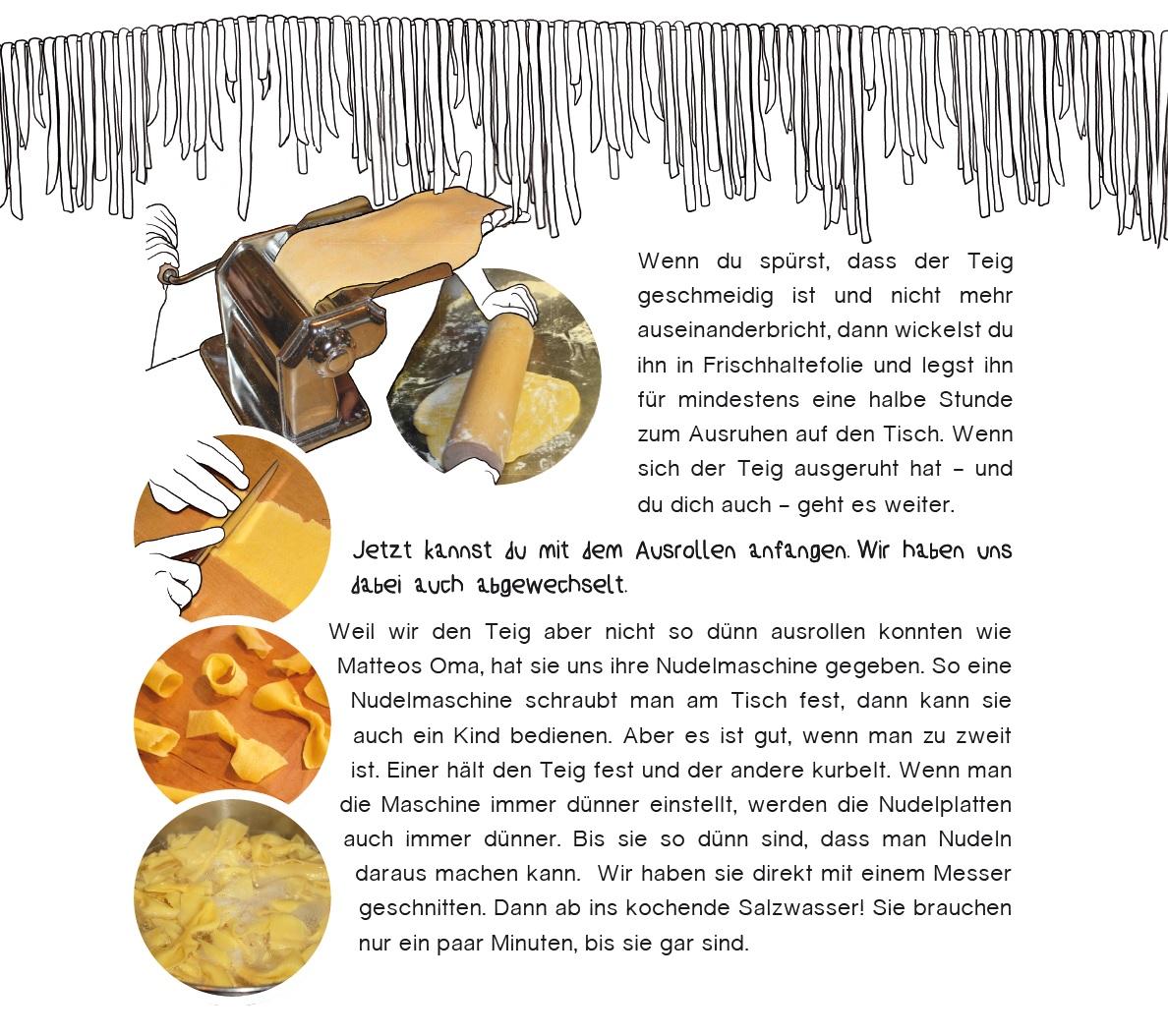 Nudelrezept aus Italien for kids für die ultimative Pasta